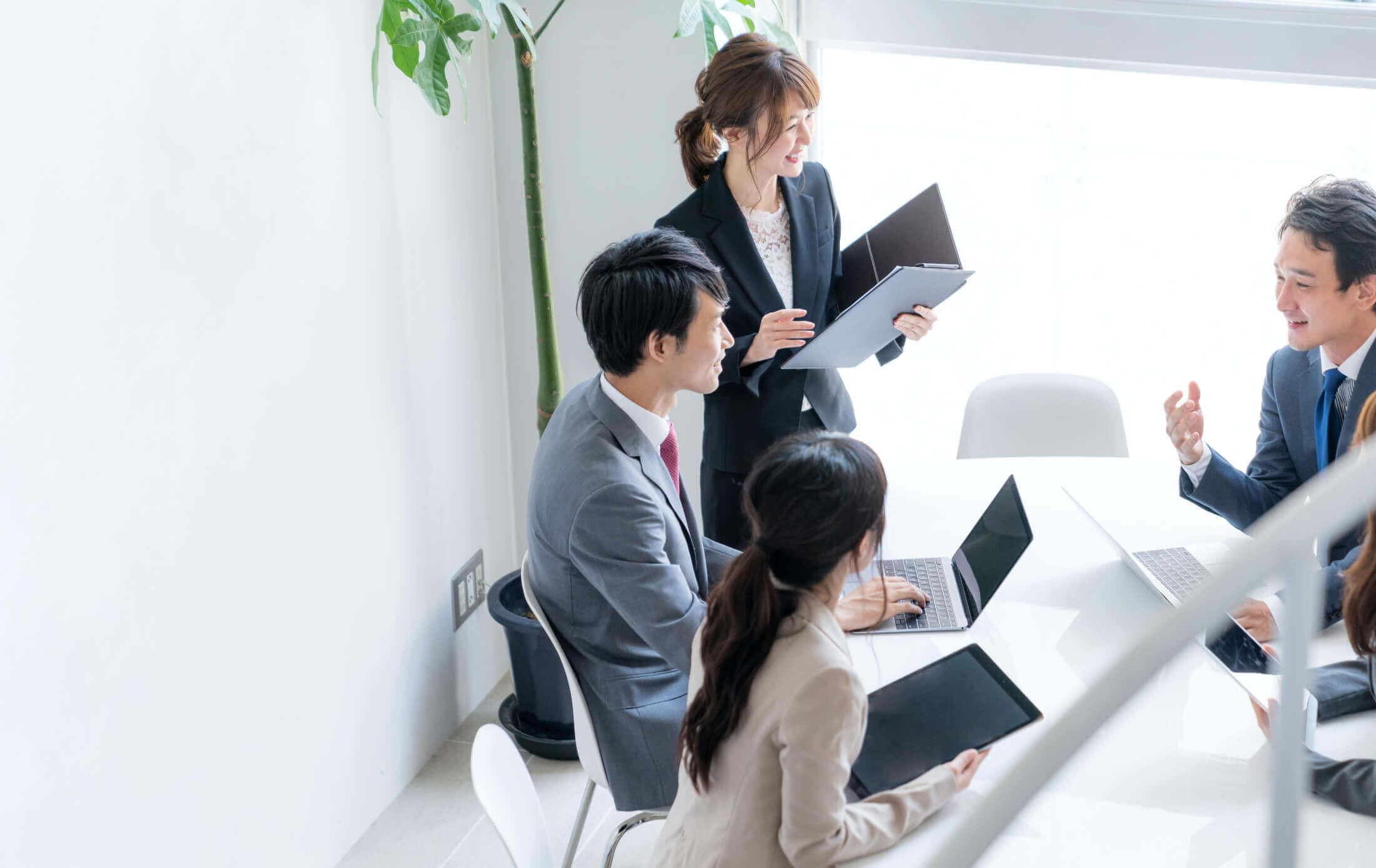 日本オフィスでの充実したサポート体制